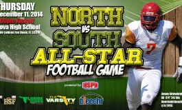 HIGH SCHOOL FOOTBALL - 2014 BCAA NORTH VS SOUTH ALL STAR GAME - HIGH SCHOOL FOOTBALL