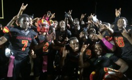 DEERFIELD BEACH BUCKS TAKE THE DISTRICT  8A-11 CHAMPIONSHIP DEFEATING THE BENGALS 38-0