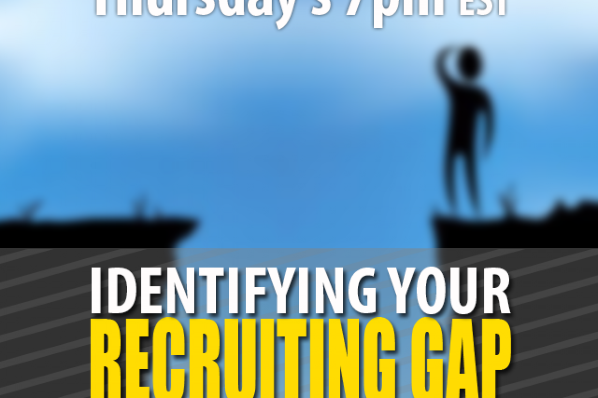 Identifying YOUR Recruiting Gap | Recruiting | Part 1