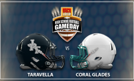 Week #5 - Friday Night Lights Game Day Features Taravella Trojans vs Coral Glades Jaguars