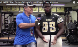 HSPN FLORIDA - WESTERN WILDCAT 'IMPACT PLAYERS' RUEBEN OLIVER, ETHAN RODRIGUEZ, OLIVIER AMBROISE