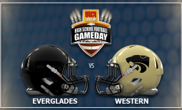 HSPN SPORTS FLORIDA - LIVE BROADCAST 'MONDAY NIGHT FOOTBALL' EVERGLADES GATORS V WESTERN WILDCATS DAVIE, FLORIDA