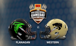 HSPN FLORIDA - LIVE HIGH SCHOOL FOOTBALL BROADCAST - FLANAGAN FALCONS V WESTERN WILDCATS (DISTRICT MATCHUP)